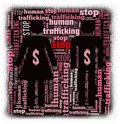 Stop Human Trafficking Royalty Free Stock Photo