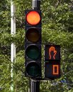 Stop lights Royalty Free Stock Image