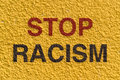 Stop racism Royalty Free Stock Photo