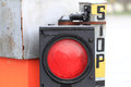 Stop red light Royalty Free Stock Photo