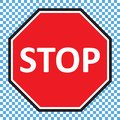 Picture : Stop sign vector in