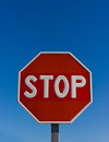 Stop signal Stock Photography