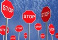Stop Signs Royalty Free Stock Photo