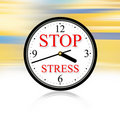 Stop Stress Royalty Free Stock Photography