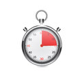 Stop watch vector illustration eps Stock Photography