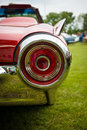 Stoplight of a personal luxury car ford thunderbird paaren im glien germany may third generation the oldtimer show in mafz Stock Photo