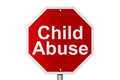 Stopping Child Abuse Royalty Free Stock Image