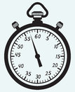 Stopwatch icon Royalty Free Stock Images