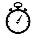 Stopwatch icon Royalty Free Stock Photo