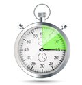 Stopwatch vector illustraion this is file of eps format Royalty Free Stock Images