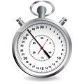 Stopwatch vector illustration file eps format Royalty Free Stock Images