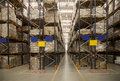 Storage warehouse Royalty Free Stock Photo