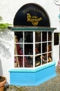 Store front of the dr martens shoe store portmeirion north wales september th on th september in north wales uk Royalty Free Stock Images