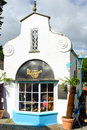 Store front of the dr martens shoe store portmeirion north wales september th on th september in north wales uk Stock Images