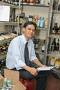 Store keeper Stock Photos