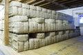 Stored Tobacco Stock Photo