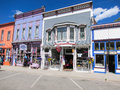 Stores in the town of silverton colorado Stock Photo