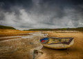 The Storm at Abeffraw, Anglesey, Wales. Royalty Free Stock Photo