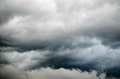 Storm clouds background of before a thunder Royalty Free Stock Images