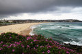 Storm clouds over Bondi Stock Photos