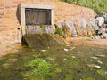 Storm Drain Outflow Royalty Free Stock Photo