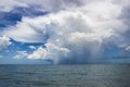 Storm over the Gulf of Mexico Royalty Free Stock Photo