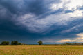 Storm rainclouds Royalty Free Stock Photo