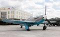 Storm Trooper IL-2 model 1942. Pyshma, Ekaterinburg, Russia - Au