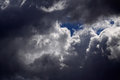 Stormy clouds Royalty Free Stock Photo