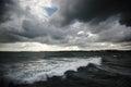 Stormy landscape Royalty Free Stock Photo