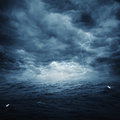 Stormy ocean abstract natural backgrounds for your design Royalty Free Stock Images