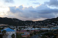 Stormy skies over st thomas u s virgin islands Royalty Free Stock Photography