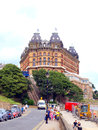 Storslaget hotell scarborough yorkshire Royaltyfria Foton
