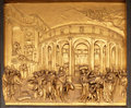 The Story of Joseph, Gates of Paradise, Baptistry of Florence Cathedral Royalty Free Stock Photo
