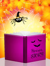 Storybook horror illustration of for halloween Royalty Free Stock Images
