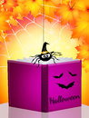 Storybook horror illustration of on halloween Royalty Free Stock Photo