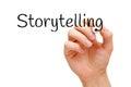 Storytelling Black Marker