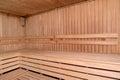 Stove Bench In A Sauna. Interior