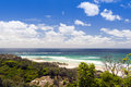 Stradbroke island ocean views from queensland australia Royalty Free Stock Image