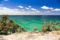 Stradbroke island ocean views from queensland australia Stock Image
