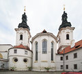 Strahov monastery basilica of the assumption of our lady in prague Royalty Free Stock Image