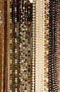 Strands of Beads and Pearls Royalty Free Stock Photo