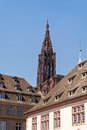 Strasbourg cathedral view of the gothic of Stock Photo