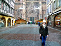 Strasbourg on CHristmas Royalty Free Stock Photo