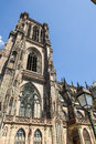 Strasbourg - The gothic cathedral Stock Image
