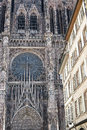Strasbourg - The gothic cathedral Royalty Free Stock Photos