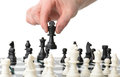 Strategic move Royalty Free Stock Photo