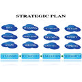 Strategic planning Stock Image
