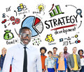 Strategy Development Goal Marketing Planning Business Concept Royalty Free Stock Photo
