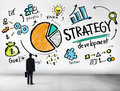 Strategy Development Goal Marketing Vision Planning Business Con Royalty Free Stock Photo